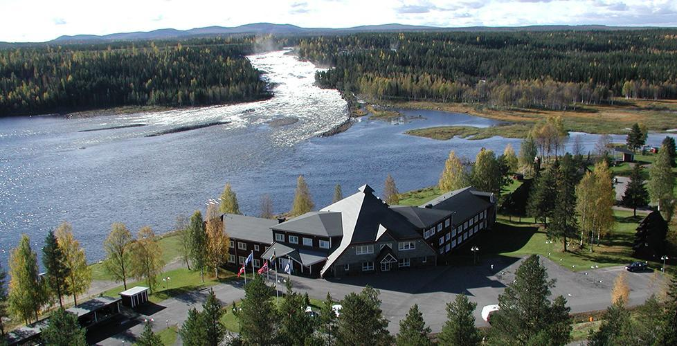 Campingen vid Storforsen bygger ut och öppnar året runt