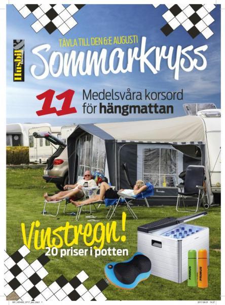 Digital fil – Korsordsbilaga, Husbil & Husvagn 7.2017