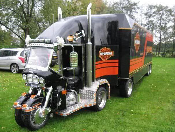 Harley för campare