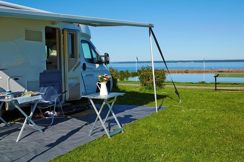 SCR visar på rekord för camping