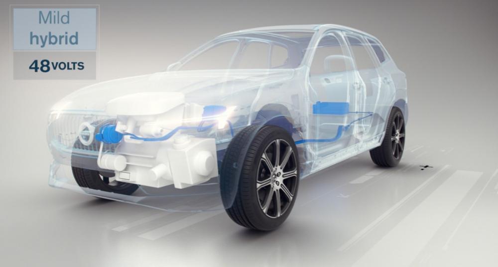 Alla Volvo får elmotor 2019