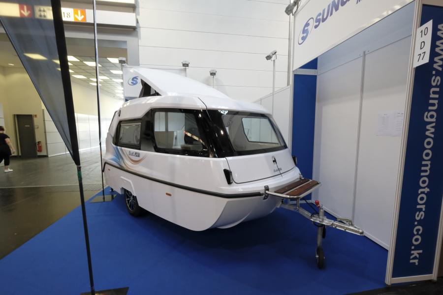 Spännande båthusvagn