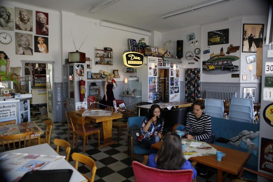 Avesta och 56:ans Café i Krylbo
