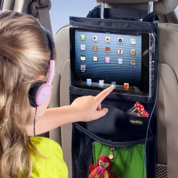 iPadhållare med smarta fickor