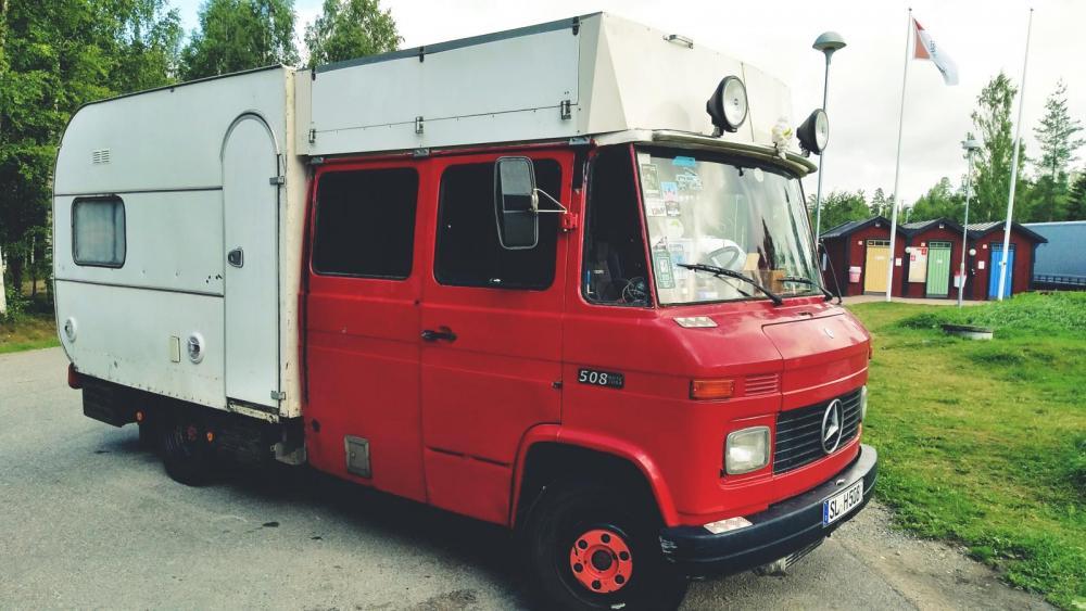 Husbil för 950 euro