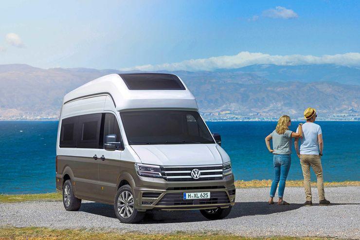 VW California XXL, ny sexmeters husbil på Crafter