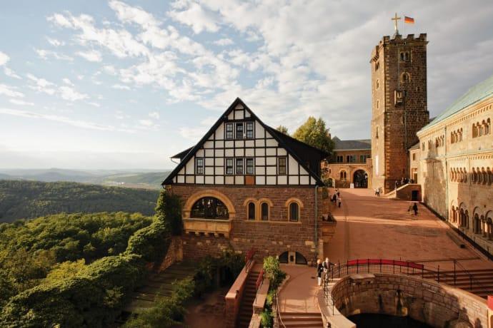 Wartburg i Thüringen, kultur på hög nivå