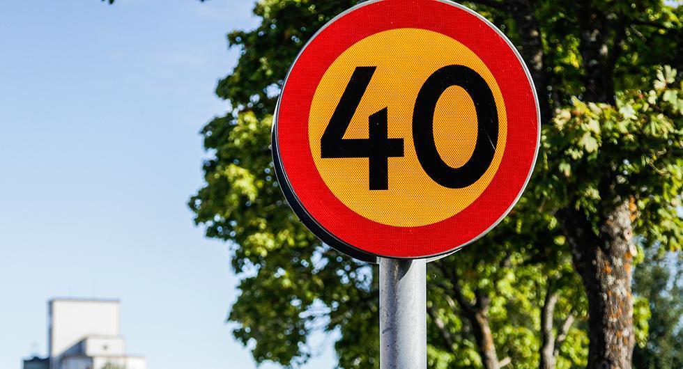 Trafikanalys vill ha 40 i tätort