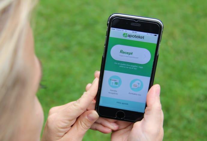 Apoteket uppdaterar sin app för enklare medicinhantering
