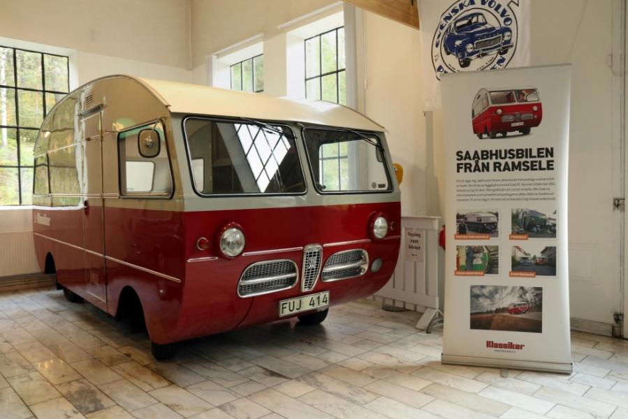 Sveriges första husbil på museum i Arvika