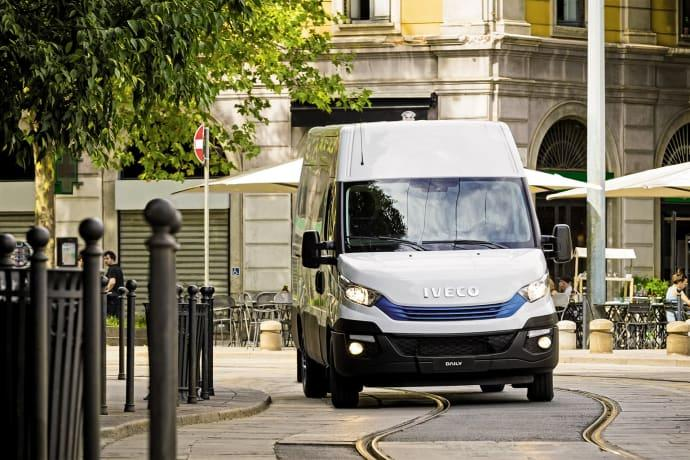 Daily Blue Power från Iveco med ny ren teknik godkänd för städer