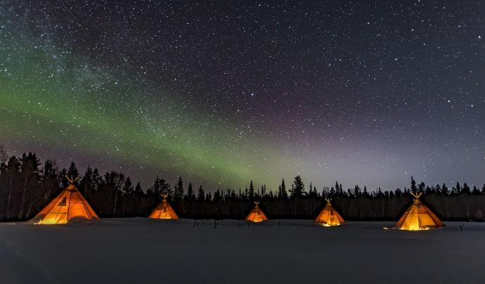 Sápmi Nature Camp, en plats bland de 21 bästa i världen