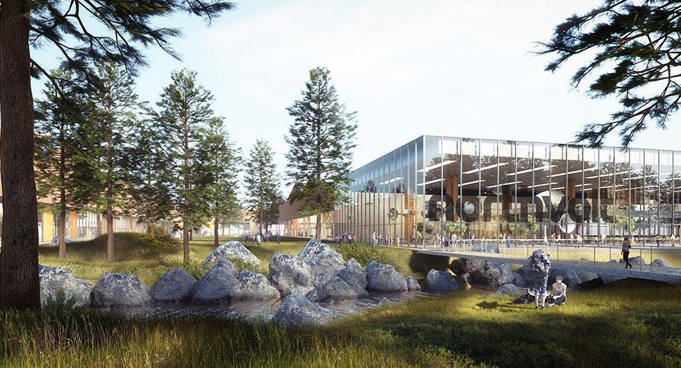 Anläggningen i Västerås ska se ut så här 2019