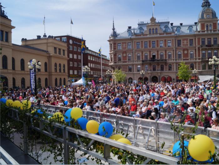 Sundsvallutsedd till Sveriges vackraste stad
