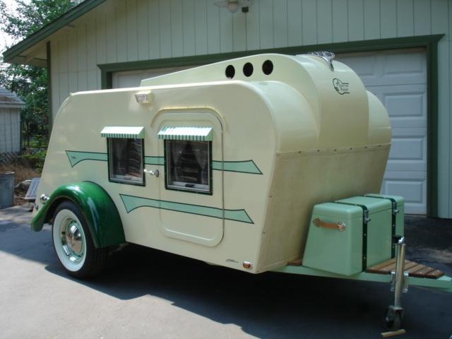 Husvagn med extra takfönster