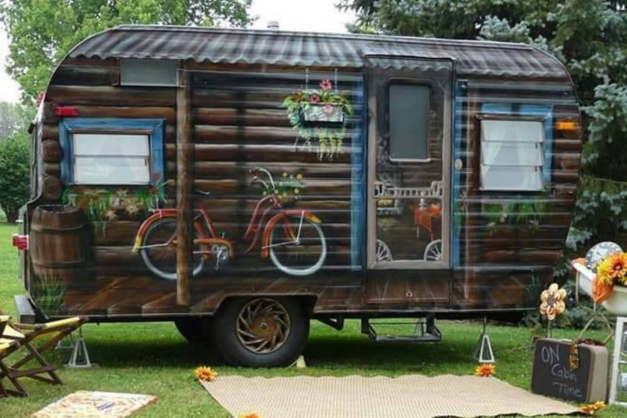 En komplett husvagn
