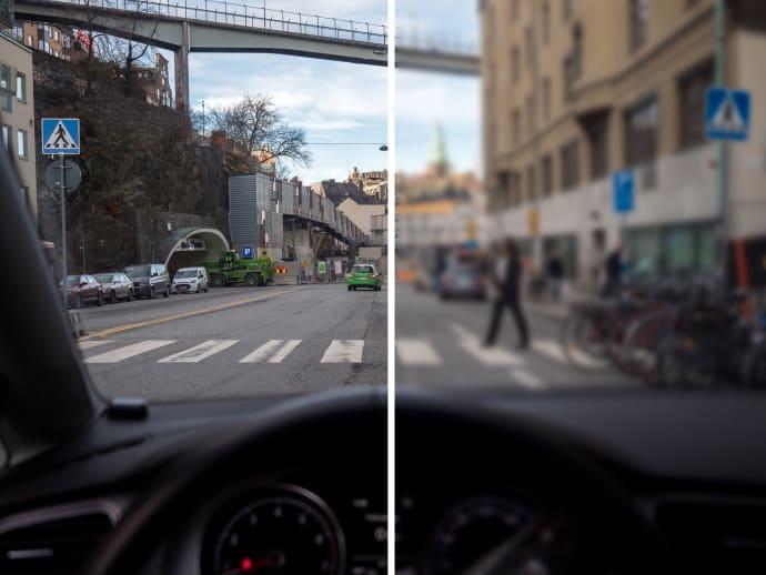 Bilister har farlig övertro på sin syn