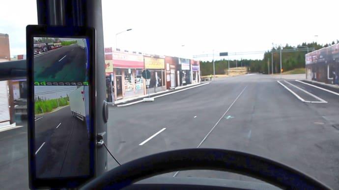 Digitala backspeglar ökar trafiksäkerheten