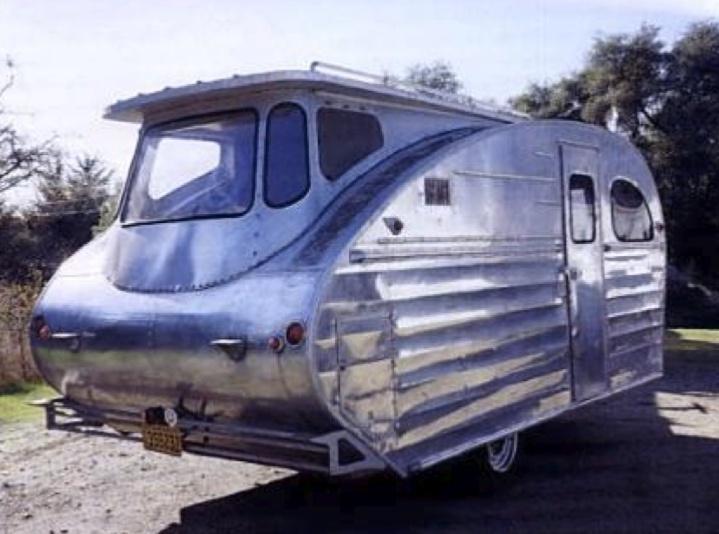 En utbyggd husvagn