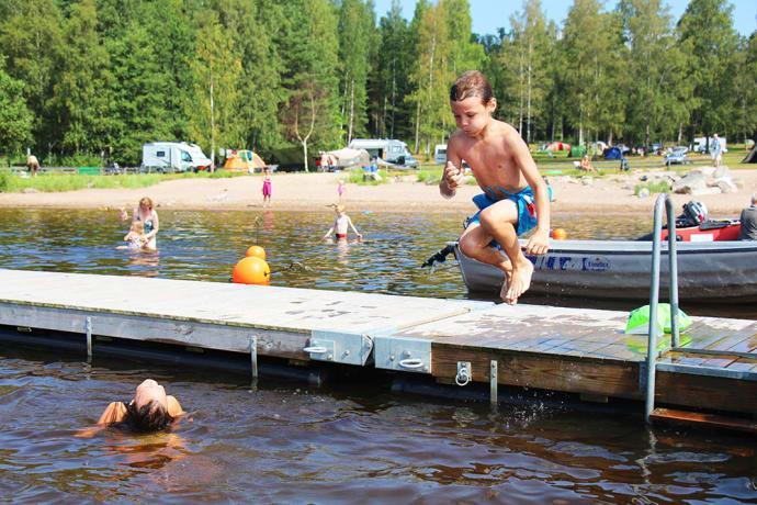 Arvika Swecamp Ingestrand, en av mer än 100 campingplatser som nu går att boka inför 2018 på Camping.se.