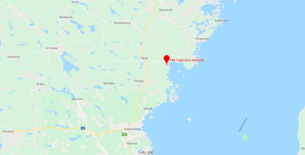 Ställplats vid Vasakajen i Figeholm stängs