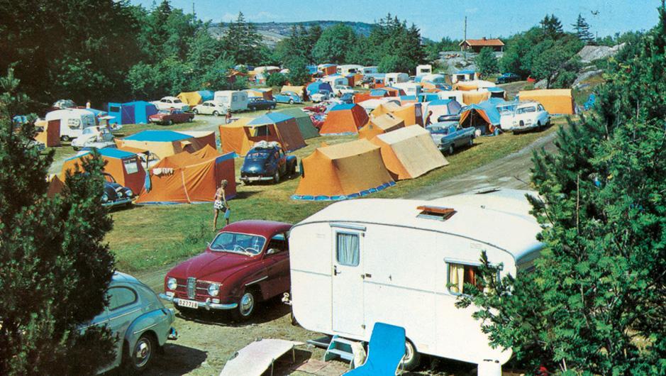 Camping på 60-talet var tältliv