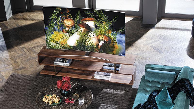QLED, en TV-teknik för soliga sommarkvällar