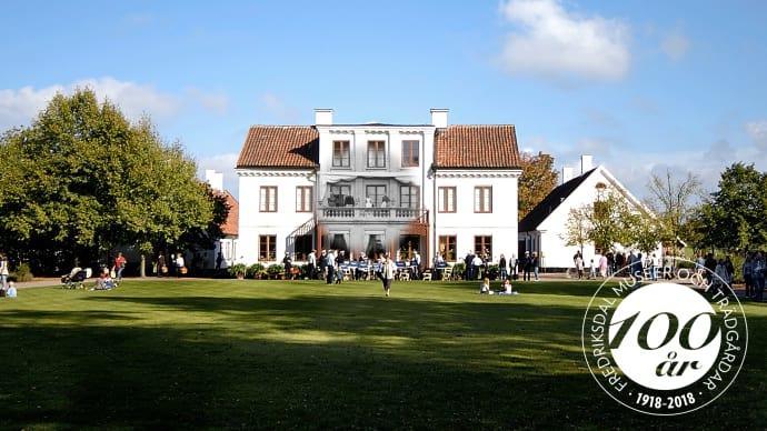 Fredriksdal museer och trädgårdar fyller 100 år
