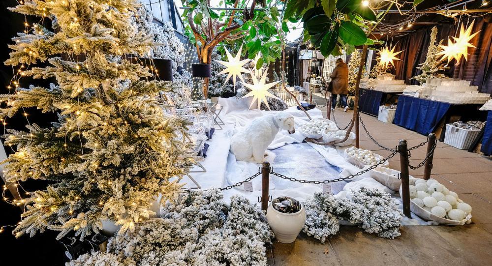 Isbjörn, växter  och inredning i Västmanland