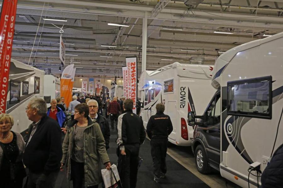 Nästan 10 000 kom till Caravan Stockholm