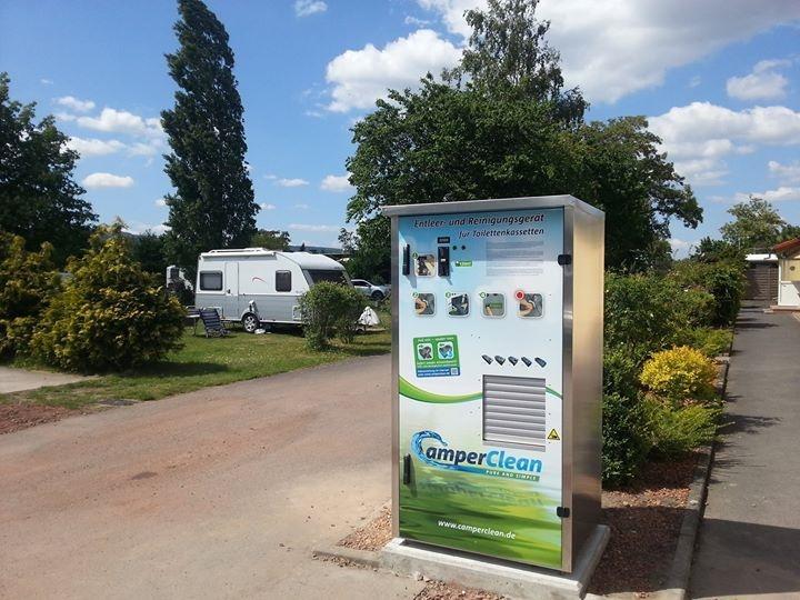 Nordic Camping först med automat för svartvatten