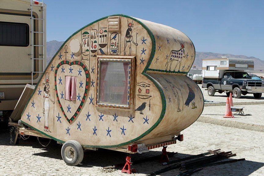 Perfekt husvagn för Alla Hjärtans Dag