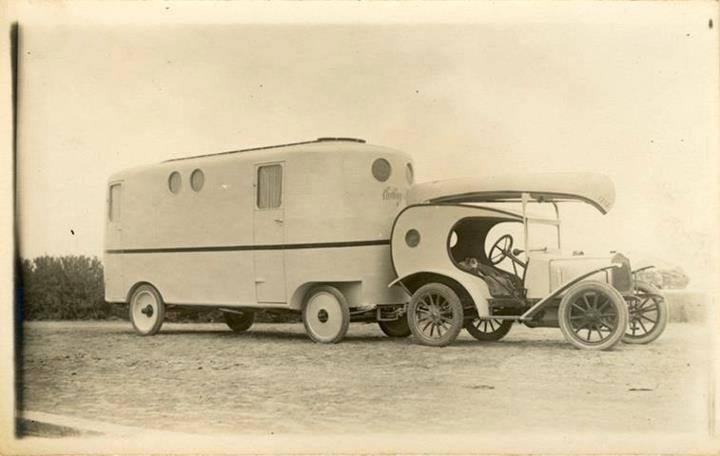 Husvagnar har funnits länge