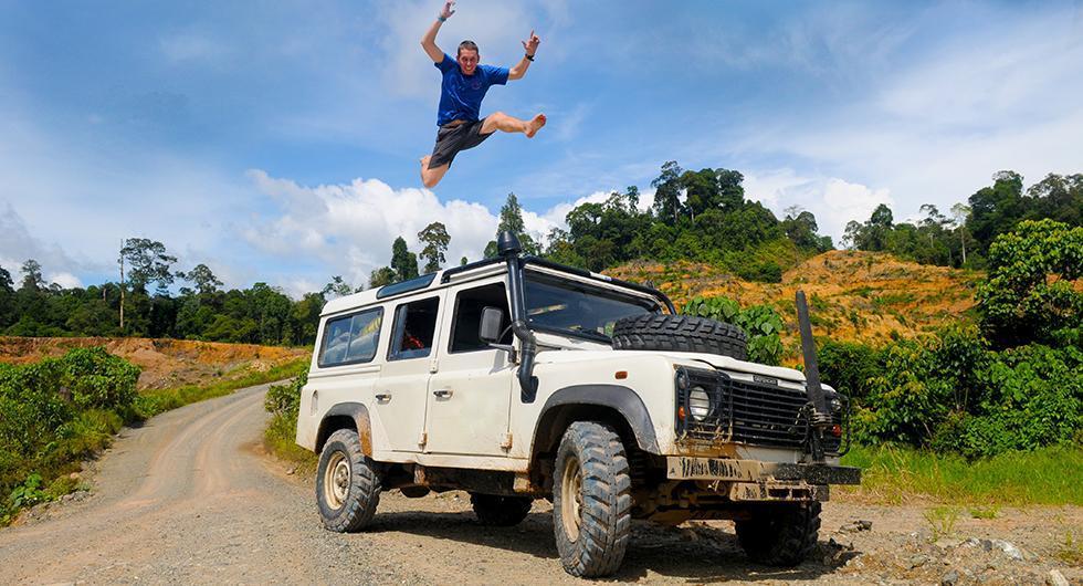 Att köra en Land Rover ger intrycket att föraren är äventyrlig, enligt en ny Sifo-undersökning.