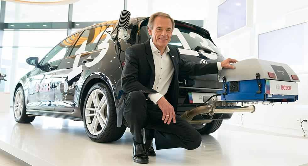 Volkmar Denner, chef för Bosch, menar att de kommit på ett sätt att rädda dieselmotorernas framtid.