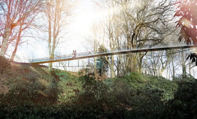 Sofiero slotts nya gångbro invigs