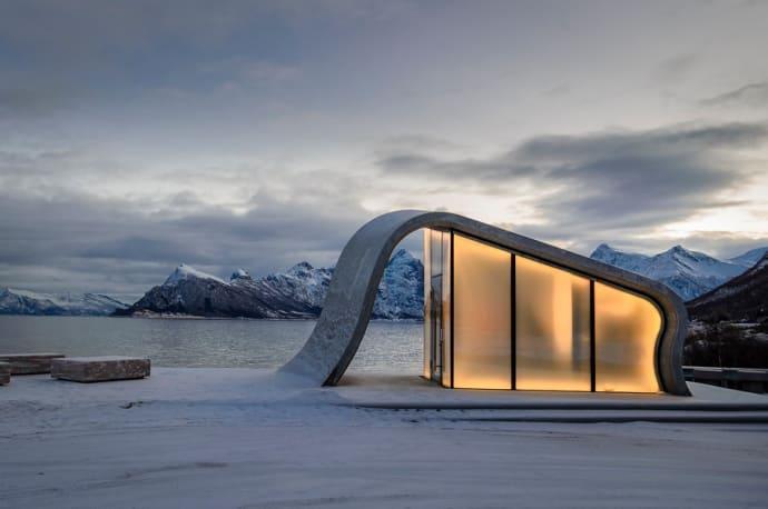 Norge har världens kanske häftigaste toalett