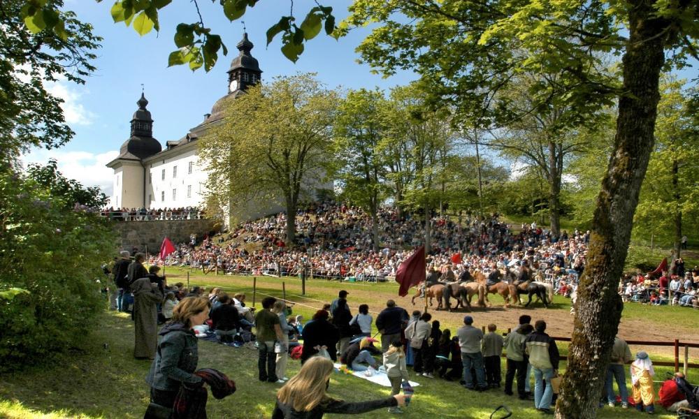 Riddarspel på Ekenäs slott 26-27 maj