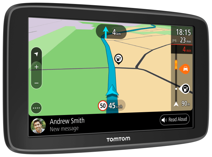 TomTom lanserar navigator med Wi-Fi- och smartphone-anslutning