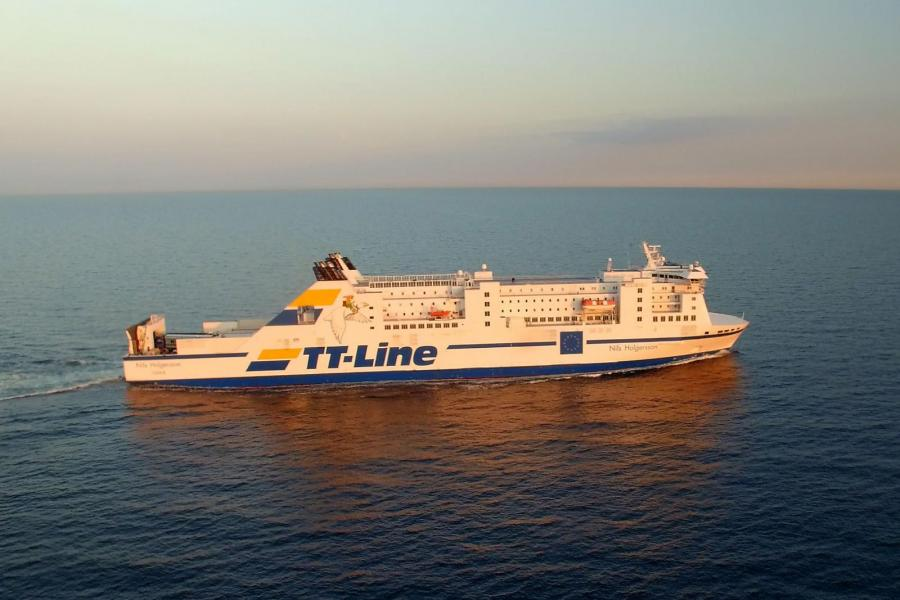 Ny linje från Trelleborgs Hamn till Klaipeda