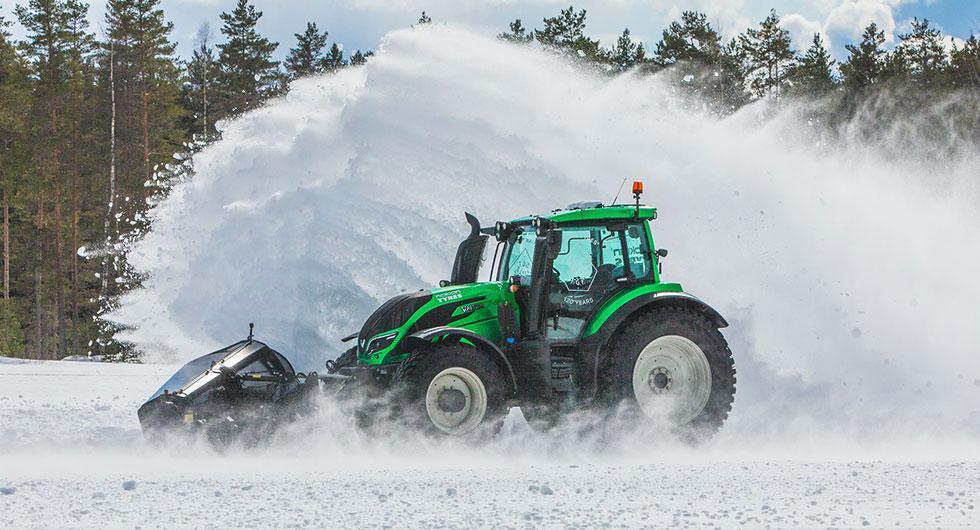 Snart är det vinter – se snöröjaren slå rekord