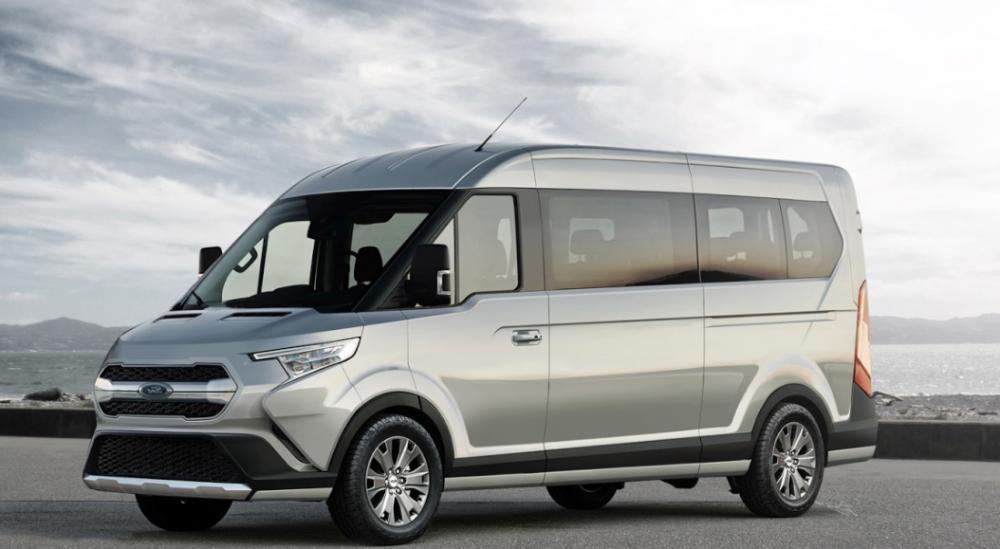 Ford visar upp 3,5-tons Transit med Mild-Hybrid-Diesel