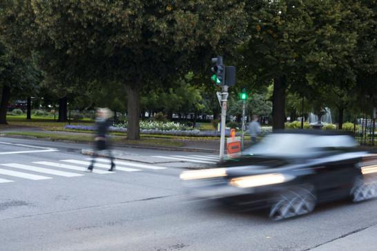 Polisen skärper kontrollen av hastigheten