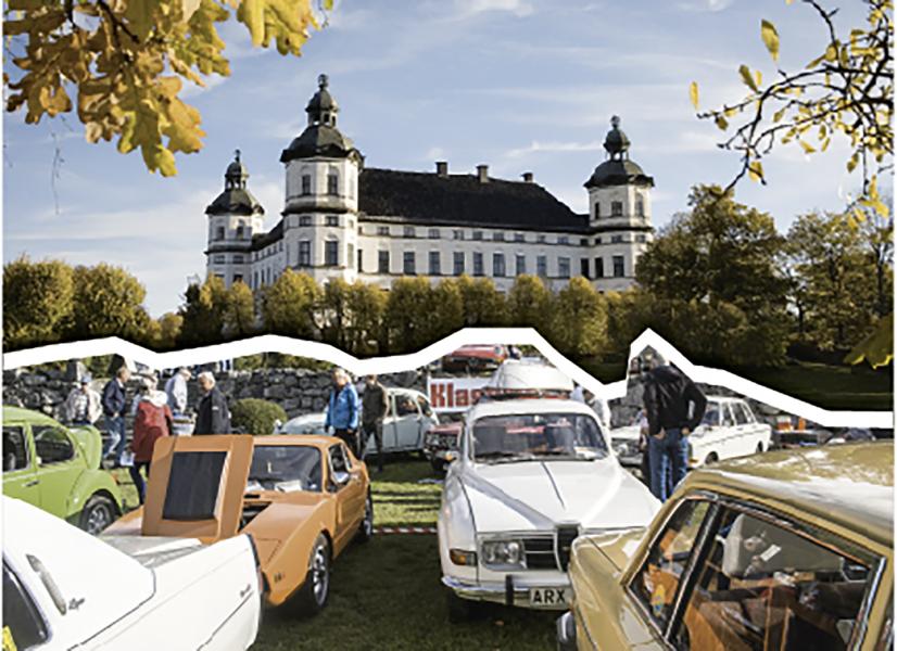 På söndag är det motorfest på Skokloster