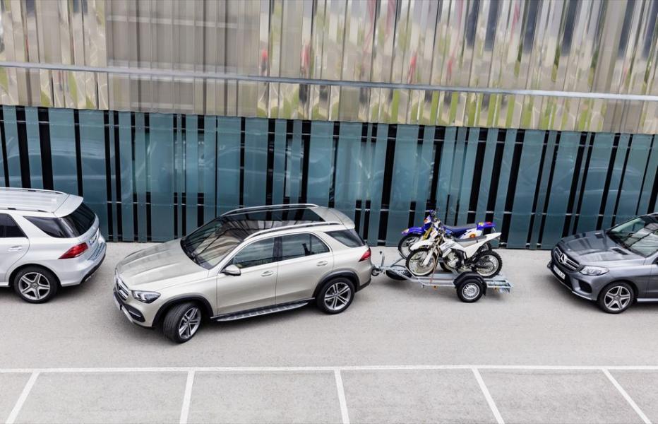 Ny Mercedes får backhjälp