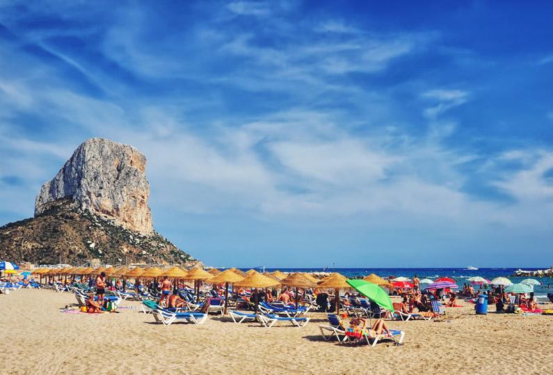 Spanien begränsar turism med husbil
