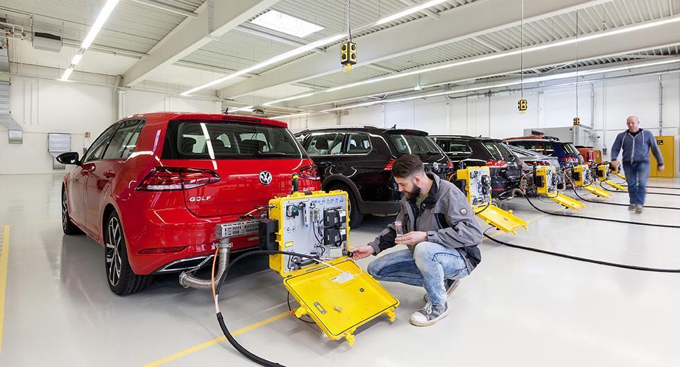 Bråda dagar i testlabbet för biltillverkarna, som måste få sina bilar testade enligt nya förbrukningsmetoden WLTP.