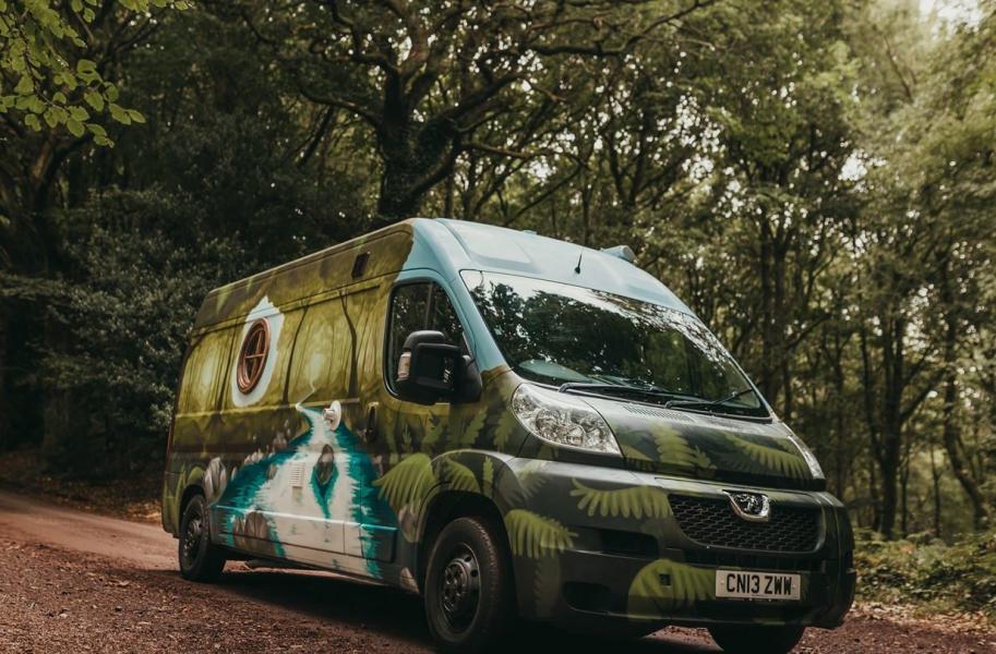 Quirky Campers udda hyrbilar