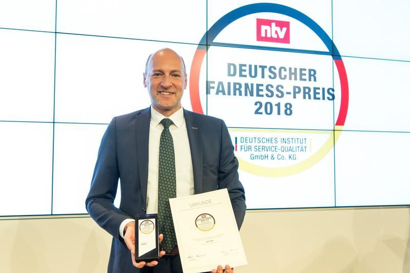 Dethleffs vann Deutschen Fairness-Preis 2018