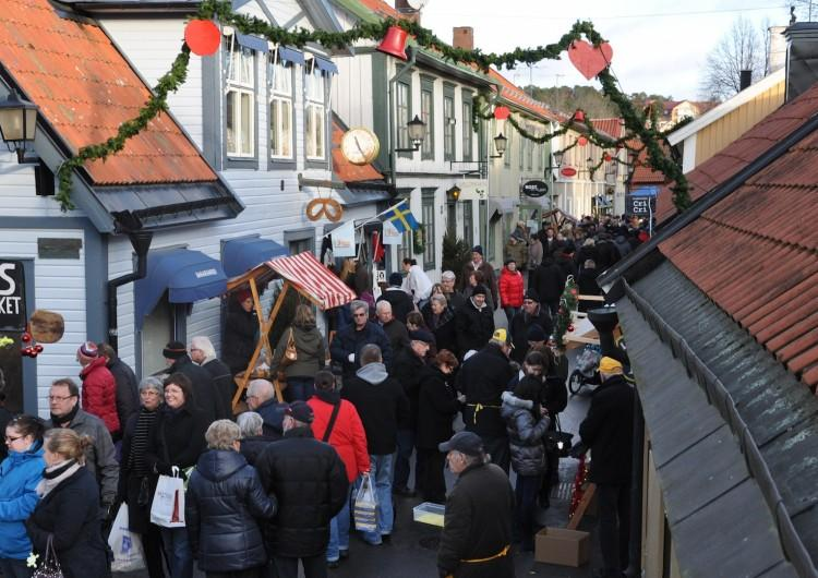 Julmarknad på Skoklosters slott och i Sigtuna